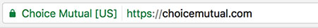 Choice Mutual ev ssl